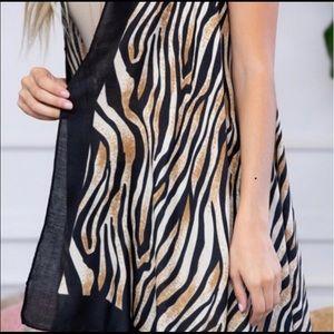 Jackets & Coats - Tiger print kimono